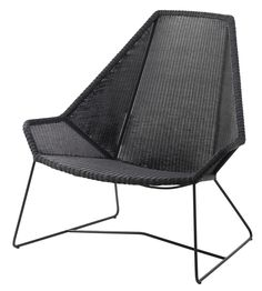Cane-line Breeze – Dänisches Design für Garten und Terrasse #Cane_line #Caneline #Design #Gartenmöbel #Terrassenmöbel #Breeze #Highback #black