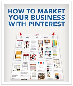 How to market your business with pinterest: http://www.sarahrobbins.com/how-to-market-your-business-with-pinterest/