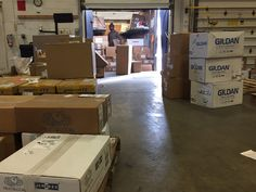 UPS Delivery at Visual Impressions.  We receive 250 - 500 boxes a day.  Usually at least one full truck, sometimes two.
