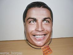 Cristiano #ronaldo face mask 2014 wm #brazil #world cup fifa uefa euro france 201,  View more on the LINK: 	http://www.zeppy.io/product/gb/2/182201673566/