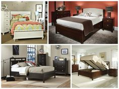 Lifestyle Bed Pieces The Right Style.  We want you to love your bed. With PerfectBalance by Durham Furniture, choose your style, the finish, the size and the storage options you want.  available at Smitty's Fine Furniture