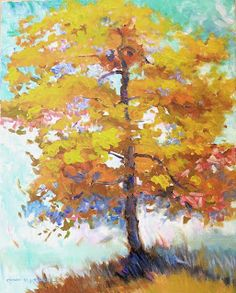 This is my cheery tree for the upcoming Easy Painting Workshop in Cumming GA! Click on the image to see the blog post that tells you more.