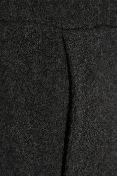 The Elder Statesman - Cashmere Track Pants - Charcoal -