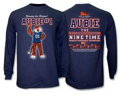2016 Aubie National Champion Long Sleeve Navy Shirt