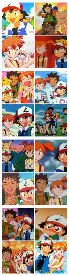 Pin/Like if you miss Misty and Brock.  They were the best companions ever!  I will never get over the loss of Misty.
