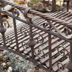 Metal Garden Bridge   Garden Bridges At Hayneedle