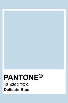 Paleta Pantone, Pantone Tcx, Pantone Blue, Pantone Swatches, Color Swatches, Pastel Blue Color, Baby Blue Colour, Light Blue Color, Pantone Color Chart