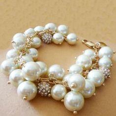 Pulsera maxi perlas €7.76