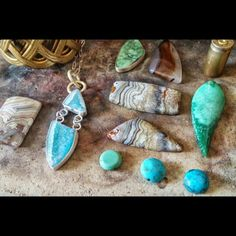 Summertime dreaming! #turquoise #druzy #jewelry #agate #silver #sterling