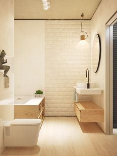Contemporary Home Style Design Using Wooden Material As The Main Decor