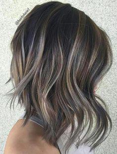Gorgeous brunette balayage