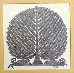 Gond Tree Painting
