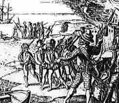 In July 1595 Spanish galleys dropped anchor off Mousehole harbour to ferry ashore a force estimated at 200 pike and shot. The Spanish burnt the village and some surrounding hamlets, including the village of Paul. The inhabitants had made off in panic. This event marked the last time Britain was ever invaded by hostile forces.