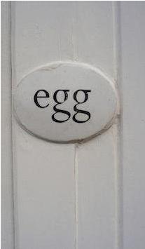 Egg in London.