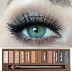 Soft Naked Palette look