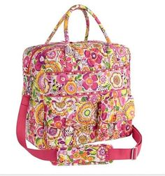 Vera Bradley GRAND CARGO BAG Travel Carry-on Luggage ~ CLEMENTINE ~ New/NWT #VeraBradley Got this!