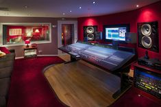 World Class Control Room, Recording Studios Birmingham, Summerfield Recording Studios