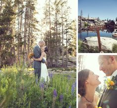 Groom's suit by Kenneth Cole. Lake Tahoe Wedding by Julia Wade Photography via Tahoe Unveiled