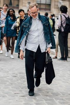 See all of the Menswear Street Style we loved from Paris
