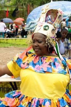 Reina Congo, Portobello, Colón - Panamá