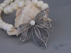 Filigree necklace with Ohrid pearls