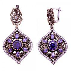 Sterling Silver Amethyst Stone Earrings Authentic Ottoman Style www.hanedansilver.com #Roxelana #East #Market #Hurrem #Jewellers #Silver #Earring #Jewelers #Ottoman #GrandBazaar #Earring #Silver #Pendant #Silver #Bracelet #Anadolu #Schmuck #Silver #Bead #Bracelet #East #Authentic #Jewelry #Necklace #Jewellery #Silver #Ring #Silver #Necklace #Pendant #Antique #istanbul #Turkiye #Reliable #Outlet #Wholesale #Jewelry #Factory #Manufacturer # Ring #Trade #Gift #Gold #Free
