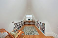 Traditional Home Office by Erika Lam   I love the rug!!!