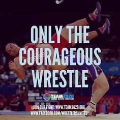 #saveolympicwrestling #team2020 #dreambig via babybackbergie16