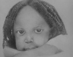 Pencil drawing.''Laila'' study of the faces by Allen D. Aramide