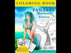 Fantasy Mermaids Fairies By Alena Lazareva