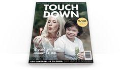 TOUCH DOWN magazine opgemaakt door #FIZZ