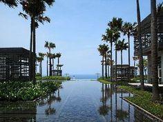 Alila Villas Uluwatu Bali - Infinity View from Lobby