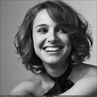 Natalie Portman short hair, bob, boho, beach waves.   Tonia- do this