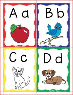 FREE alphabet flashcards!