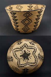 Apache Indian Baskets.  → For more, please visit me at: www.facebook.com/jolly.ollie.77