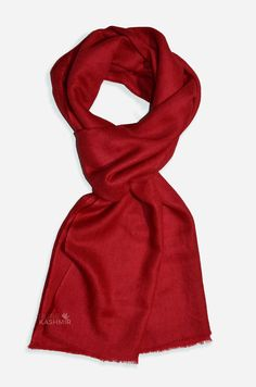 Ruby Cashmere Scarf/Shawl Cashmere Pashmina, Pashmina Scarf, Color Depth, Dip Dye, Square Scarf, Color Show, Hand Weaving, Display, This Or That Questions