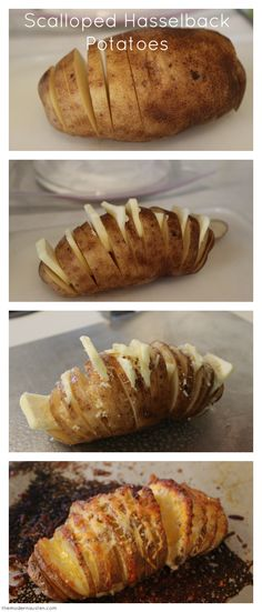 Recent Recipe: Scalloped Hasselback Potatoes and Fried Zucchini for One