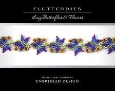 Flutterbies beading tutorial   Craftsy