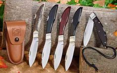 DH Russell Lockblades  available in many different handle materials
