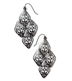 Damask Earrings from lia sophia - I have these and I love them!
