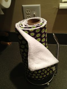 Re useable Paper Towels - great links on how to DIY paper towels