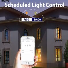 ☀️ No need to flip any switches!  Set your bulb to turn on 5 minutes before your alarm to make waking up easier. 🛌#led #light #ledbulb #lightbulb #smartlight #smartbulb #smartlighting #lighting #bulb