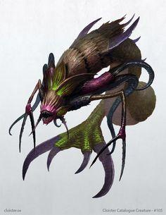 Noktunga - Creature Design by Cloister on DeviantArt