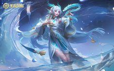 Athena Goddess, Manga Anime Girl, Gamers, Fantasy Characters, Fictional Characters, Mobile Legends, Couple Art, Mobile Game, Pixel Art
