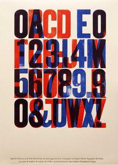 woodtype metal color by oficinatipograficasp, via Flickr