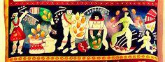 Detalhes das lindas mulheres índias da Ciça Fitipaldi