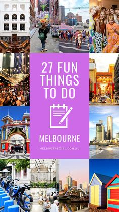 27 Fun things to do when you visit Melbourne - MELBOURNE GIRL