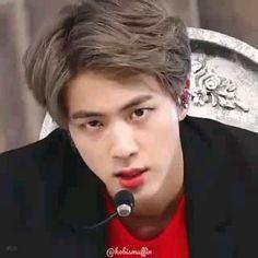 ๖ ⃟⸽⃟ ⃟⸽⃟꙰ ⃤꙰҈҉♡ Seokjin, Jin Gif, Bts Jin, Bts Memes, Grammy Nominees, Jin Icons, Bts Korea, Worldwide Handsome, Kpop