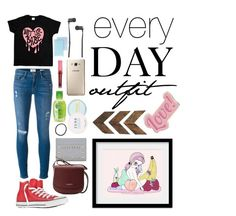"""""""almost everyday"""" by bellanindia on Polyvore featuring Frame, Converse, Valentino, Lancaster, Samsung, Shiseido, Master & Dynamic, Valfré, WALL and Red Camel"""