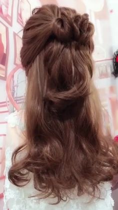 Cute Simple Hairstyles, Braided Hairstyles Tutorials, Little Girl Hairstyles, Down Hairstyles, Trendy Hairstyles, Beautiful Hairstyles, Heatless Hairstyles, Hair Tutorials, Wedding Hairstyles For Short Hair